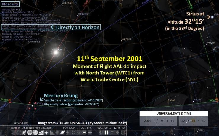 11-Sep-2001--12hr-46min-40sec-UTC--World Trade Centre--Mercury Rising-Sun about 2nd Hour--Interp