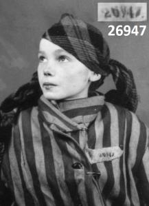 NUMBER-26947--Czeslawa-Kwoka--Auschwitz Victim--Died Aged 14