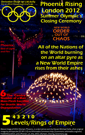 2012 Olympic Phoenix--New World Empire Rising from Ordo Ab Chao
