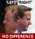 Blair-Cameron Left-Right NO DIFFERENCE