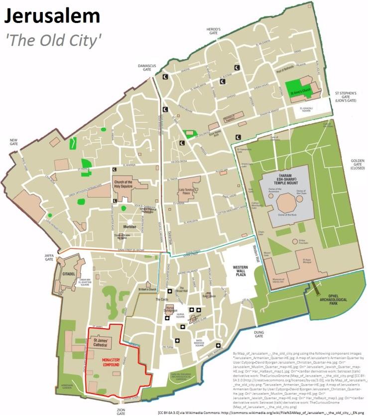 Jerusalem The Old City---The Prize