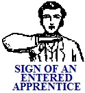 Sign of Entered Apprentice