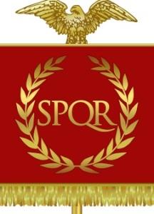 SPQR Roman Vexiloid