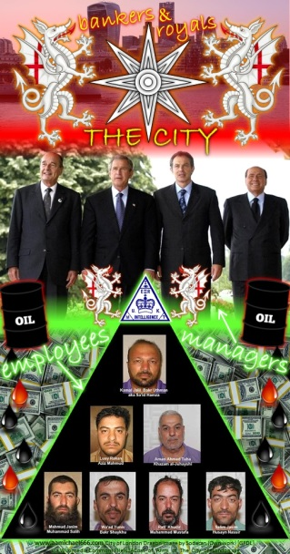 The City Bankers and Royals Oil Dollars Terrorist Employees Bush Blair